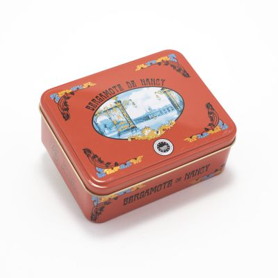 Tin of Bergamot sweets IGP label (150 g)