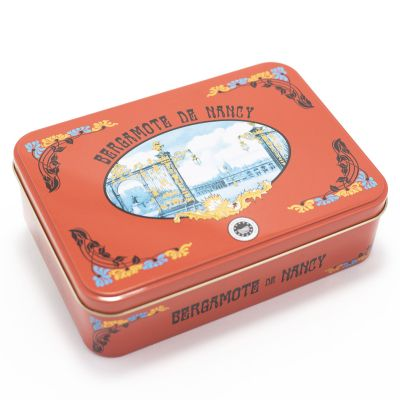 Tin of Bergamot sweets IGP label (250 g)