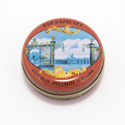 Tin of unwrapped Bergamot sweets (80g)