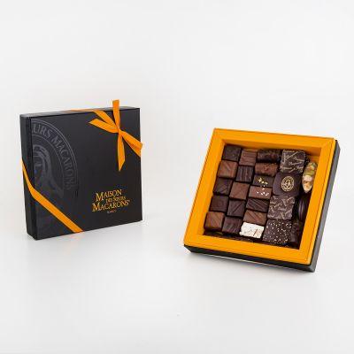Ecrin coffret chocolats