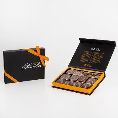 Boîte chocolats l'Ecrin Stanislas Grands Crus (120 g)