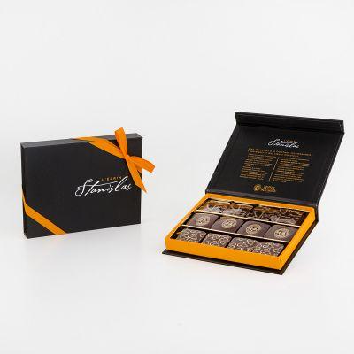 Boîte chocolats l'Ecrin Stanislas spécialités (120 g)