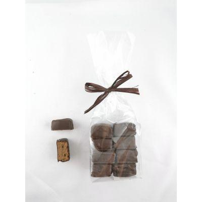 Carrés guimauve chocolat