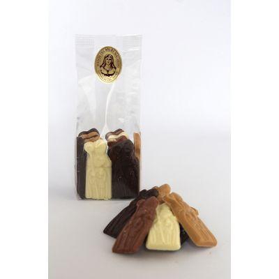 St Nicolas en chocolat assortis 100g
