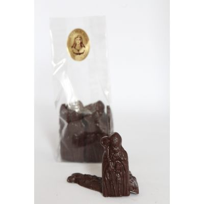 St Nicolas en chocolat sans sucre 100g